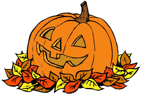 Fall pumpkin clipart free