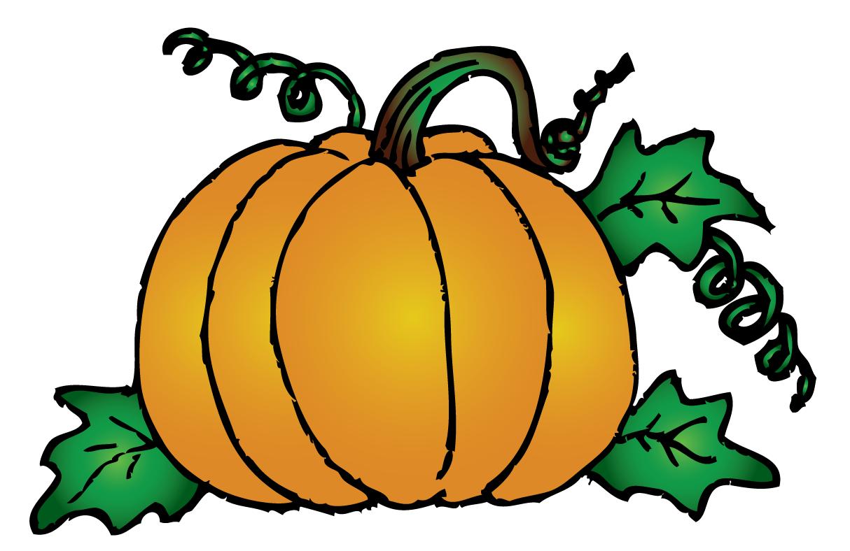 Fall pumpkin clipart