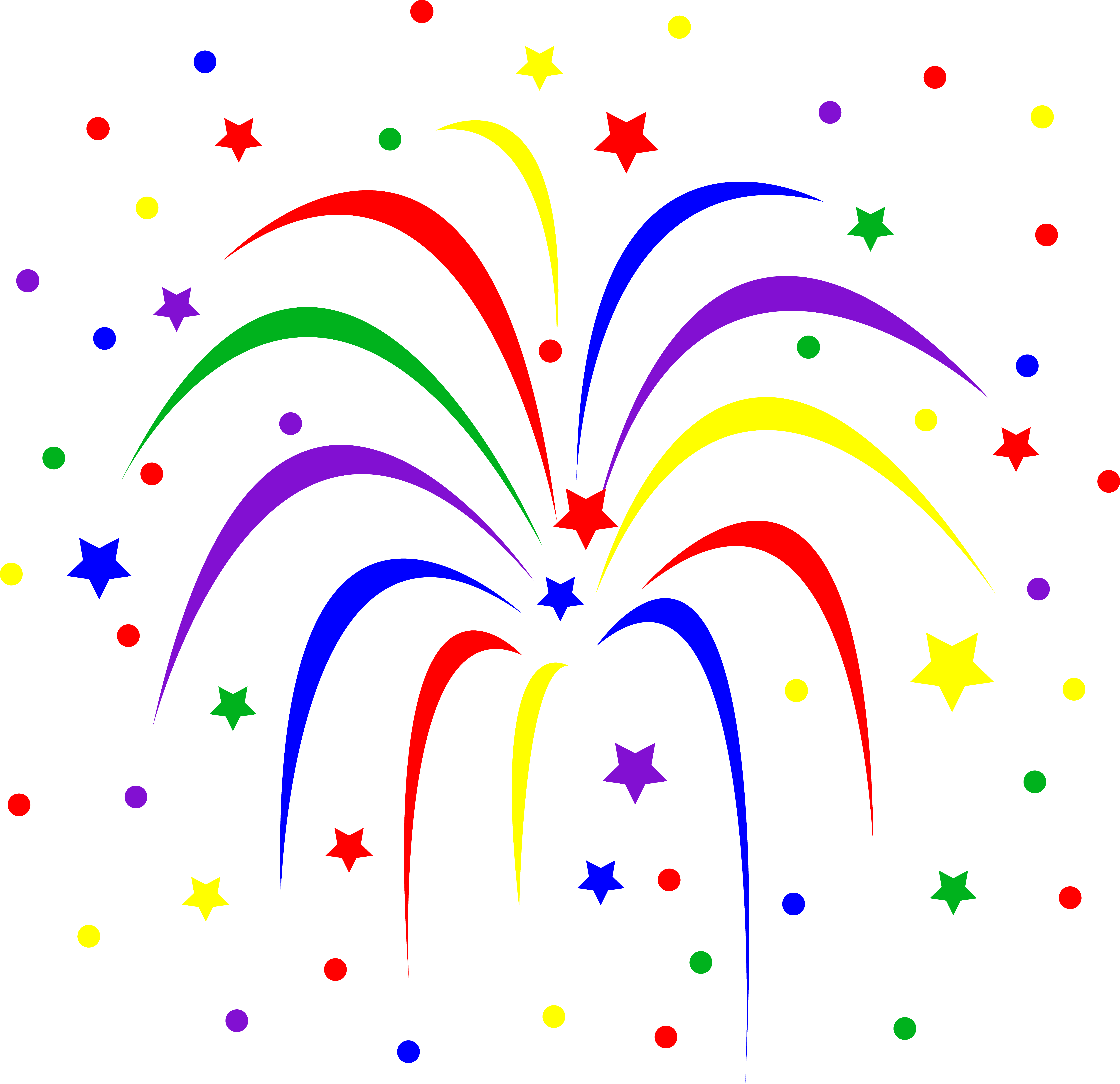 Fireworks clipart no background free images