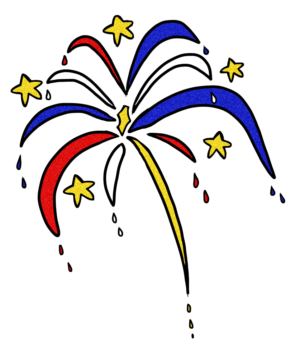Fireworks clipart transparent free images