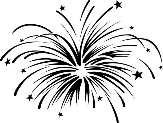Fireworks clipart with animation free