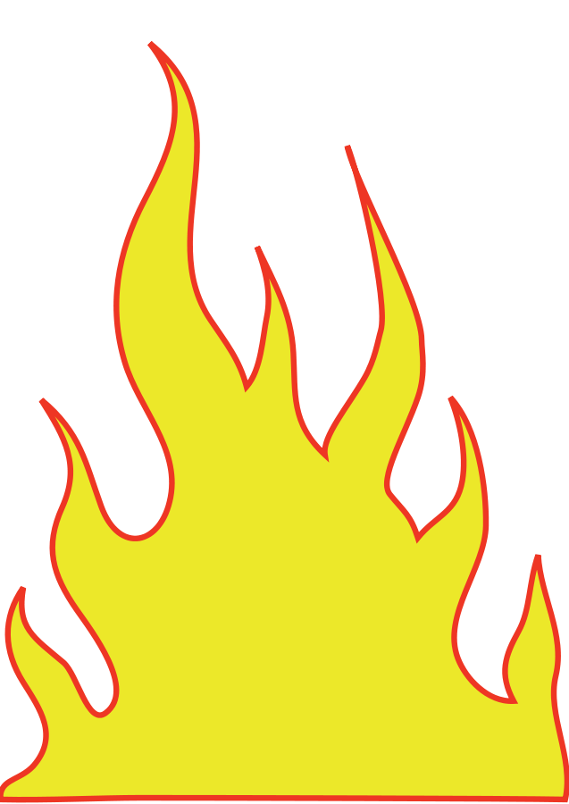 Flame clip art free clipart images 6