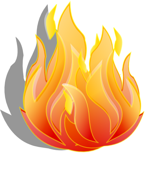 Flame clip art free clipart images 9