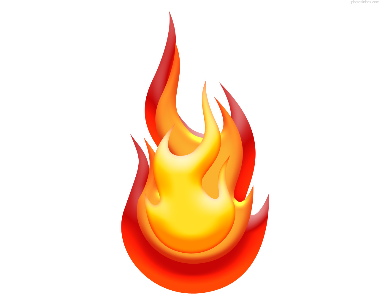 Flame clipart border free images 2
