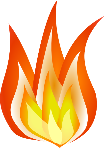 Flame clipart border free images 3