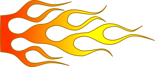Flame clipart border free images