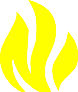 Flame clipart image 8
