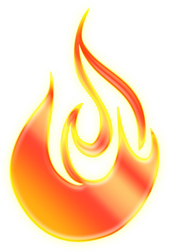 Flame clipart letters free images