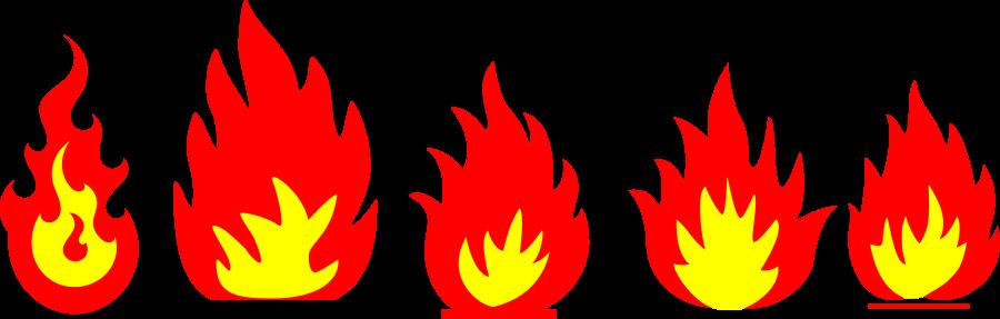 Flames clip art tumundografico