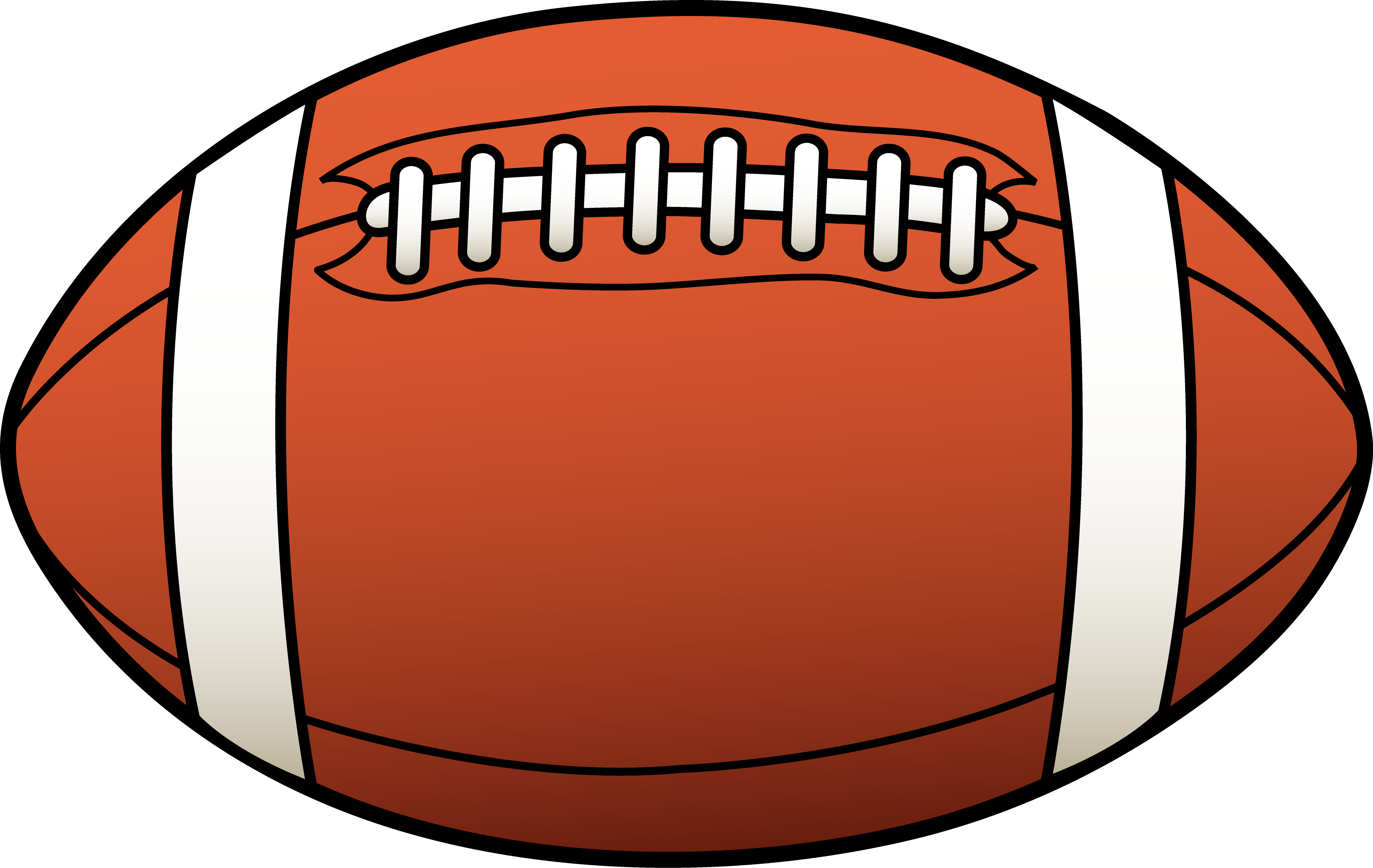 Football clipart free images 3
