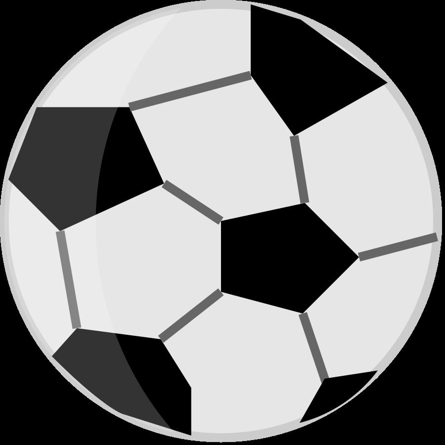 Football clipart realistic vector clip art 8