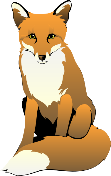 Fox clip art free clipart images