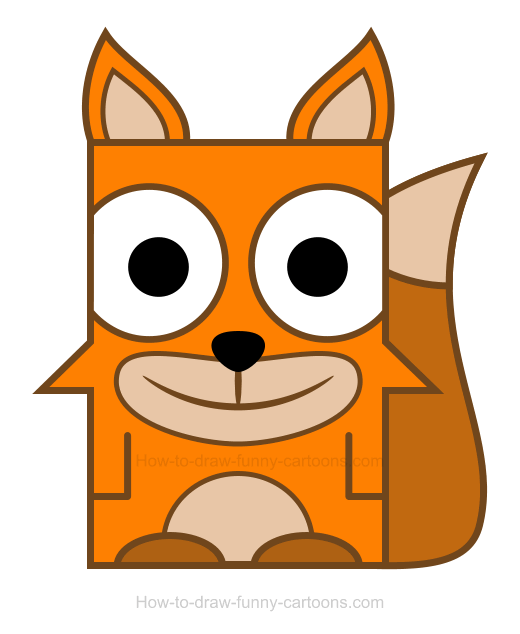 Fox clipart 3