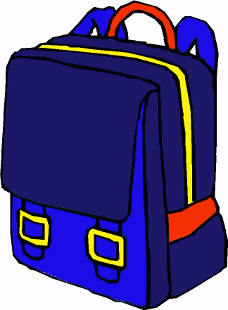 Free backpack clipart clip art images 3