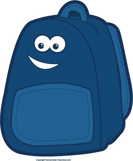 Free backpack clipart clip art images image clipart