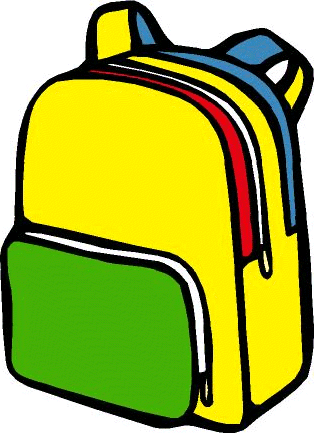 Free backpack clipart pictures 2