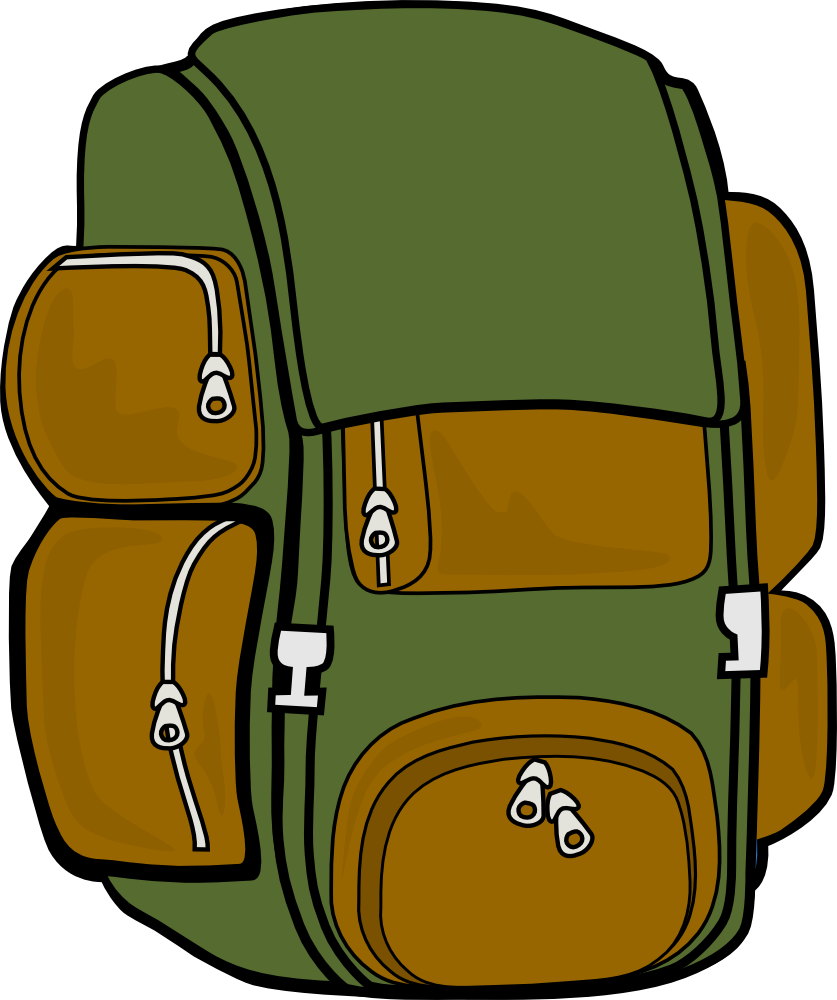 Free backpack clipart pictures 3