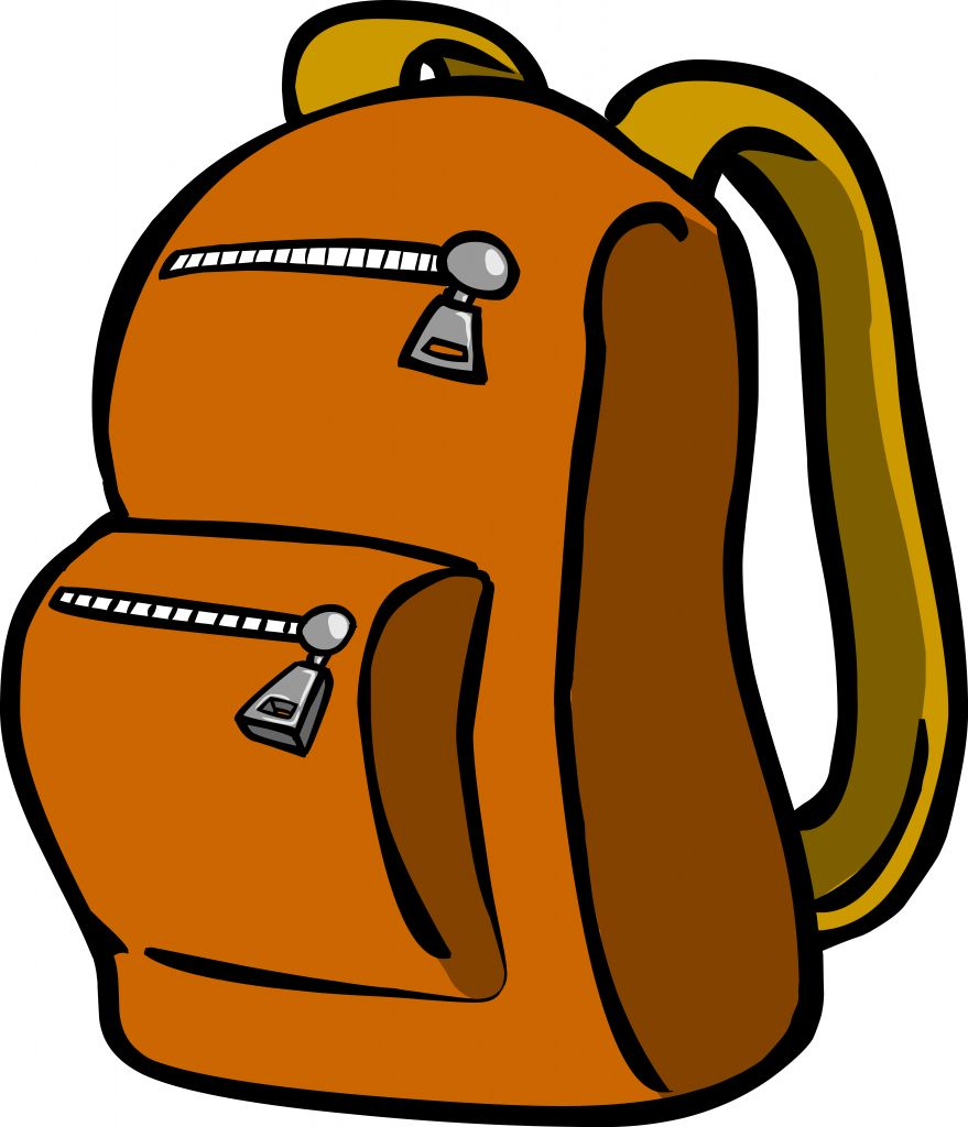 Free backpack clipart pictures 4