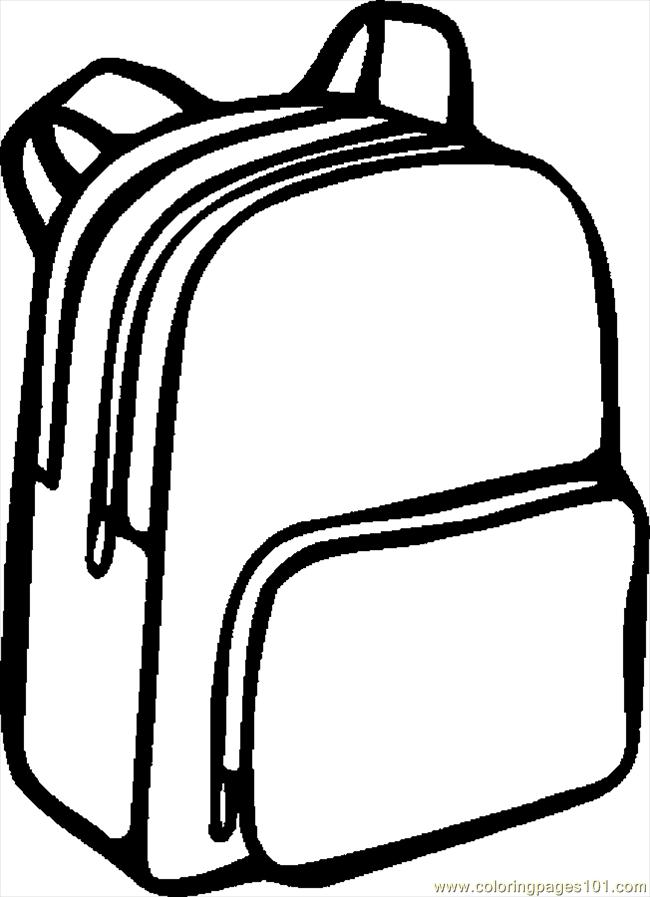Free backpack clipart pictures 5