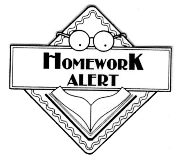 Free clipart homework images
