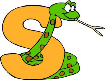 Free cute snake clip art