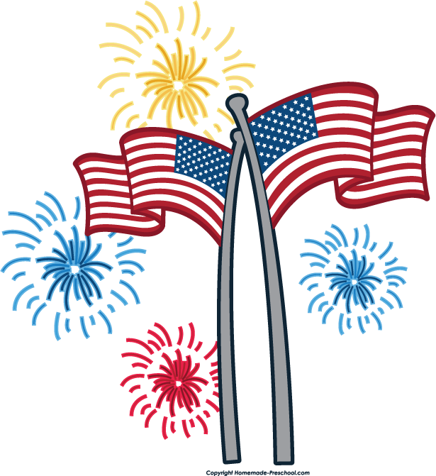 Free fireworks clipart 2