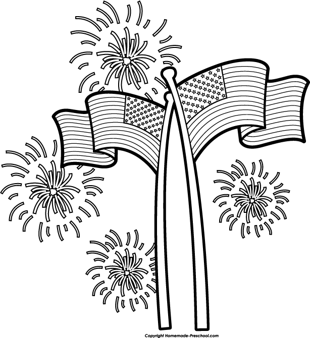 Free fireworks clipart 5