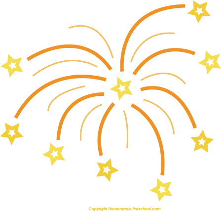 Free fireworks clipart 7