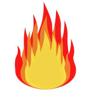 Free flame clipart clipartfox 3