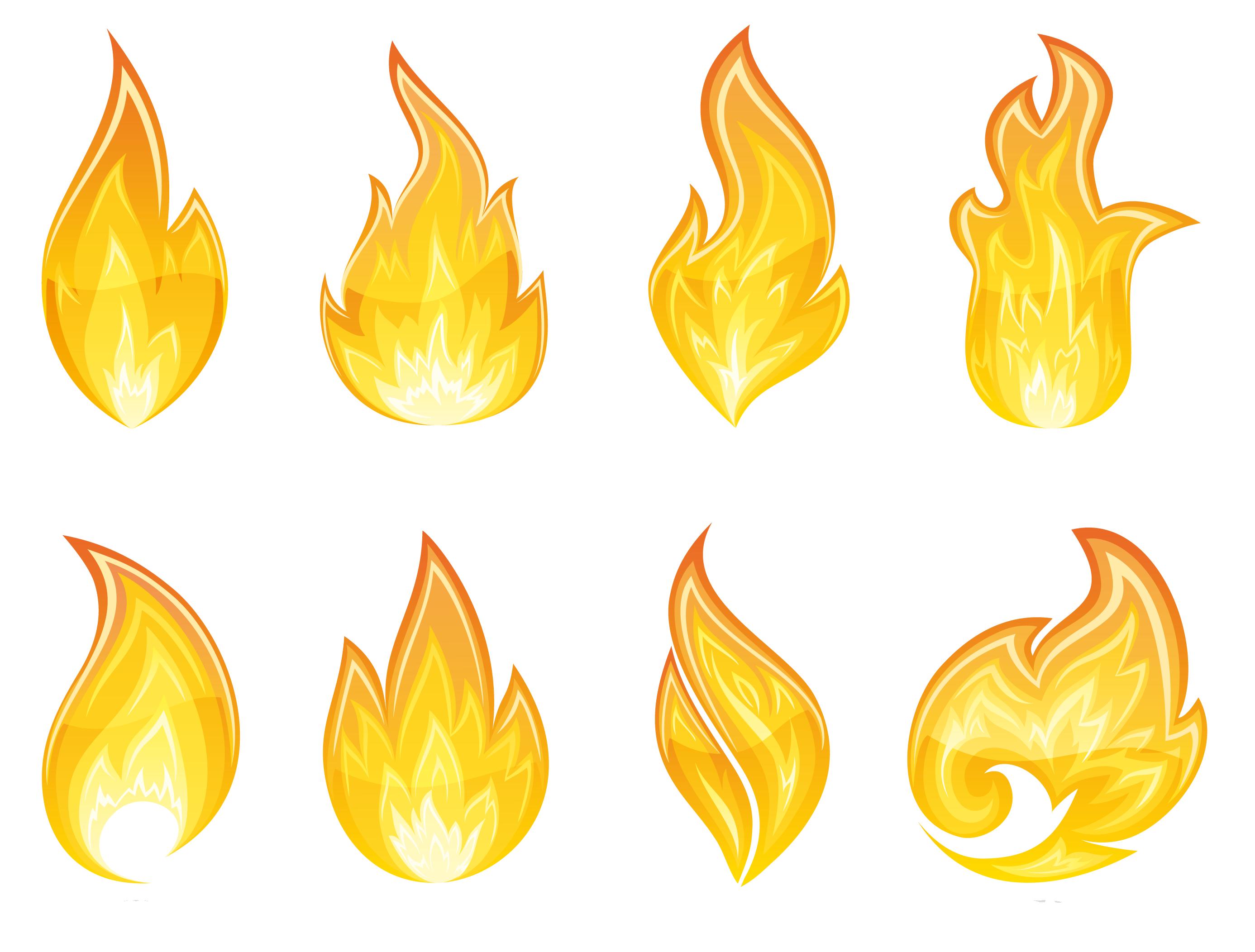Free flame clipart clipartfox 7