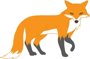 Free fox clipart pictures 4
