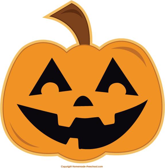 Free halloween pumpkin clipart