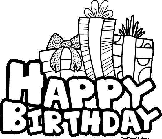 Free happy birthday clipart 2