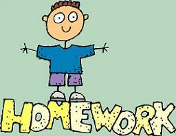 Free homework clipart