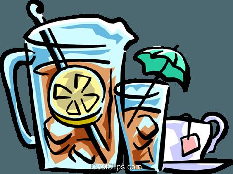 Free iced tea clipart