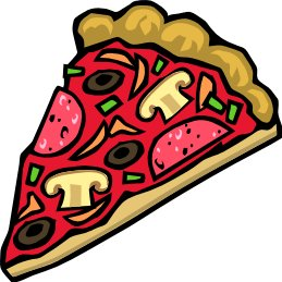 Free pizza clipart graphics images and photos