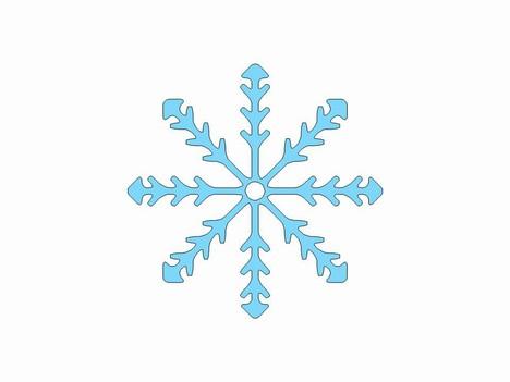 Free printable snowflake clipart