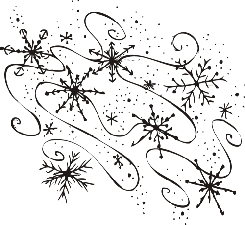 Free snowflake clipart for mac