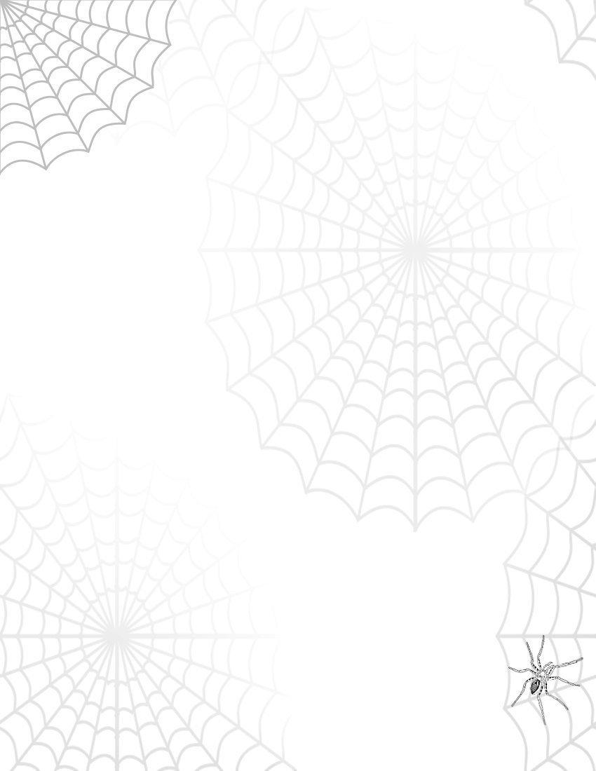 Free spider web clip art 2