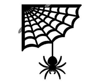 Free spider web clip art 3