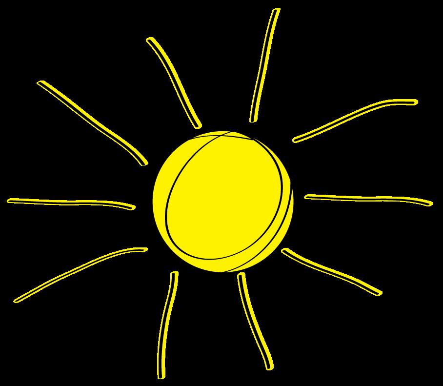 Free sunshine clipart 3