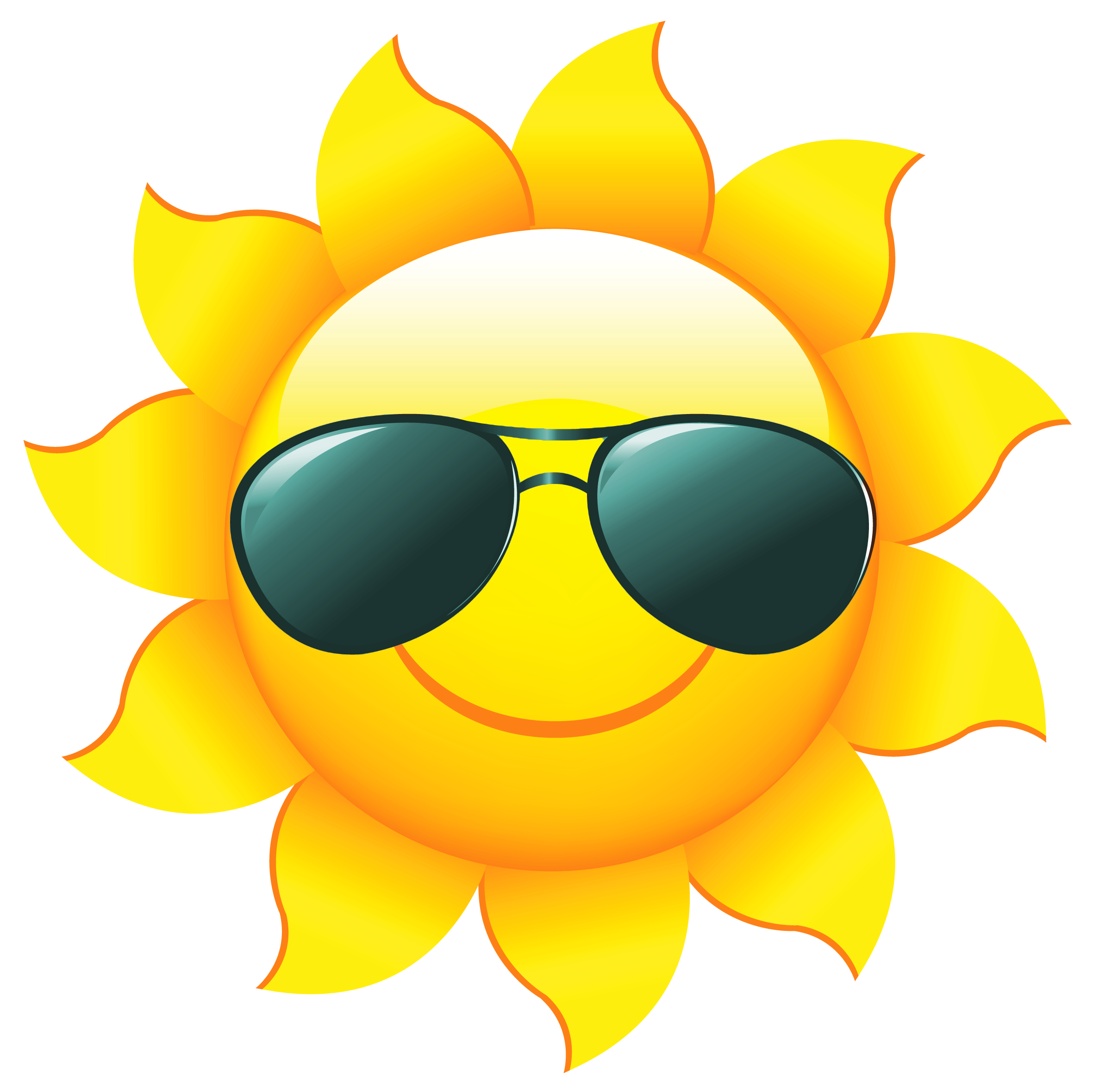 Free sunshine clipart pictures 2