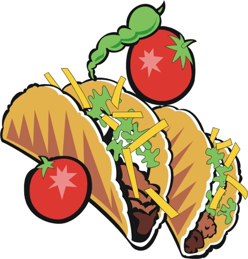 Free taco clipart images clipart