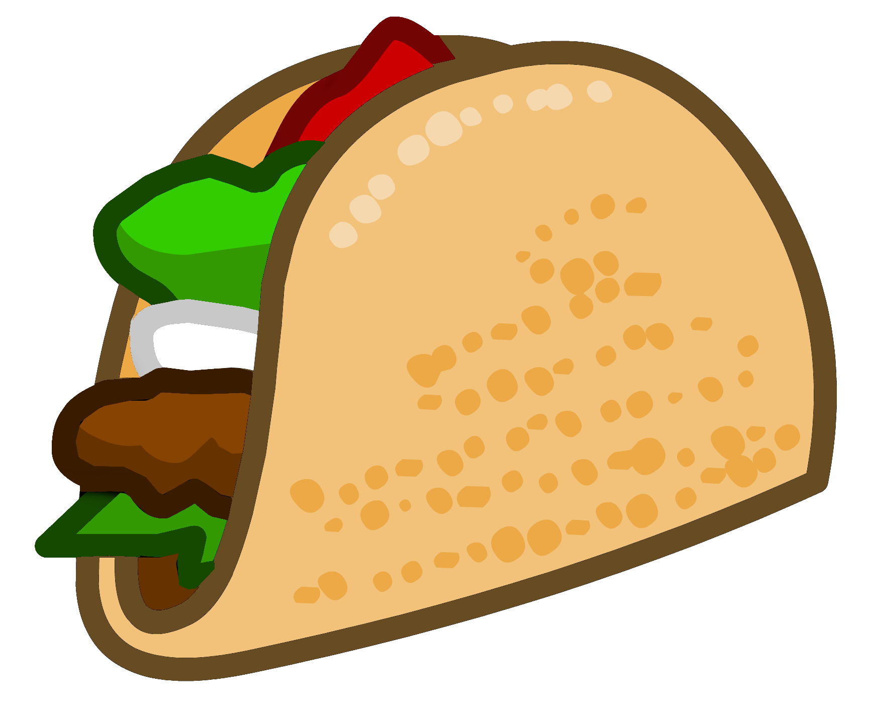Free taco clipart pictures 5