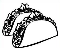 Free taco clipart