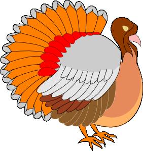 Free turkey clip art with pixels