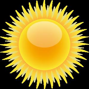 Free vector sun clipart 3