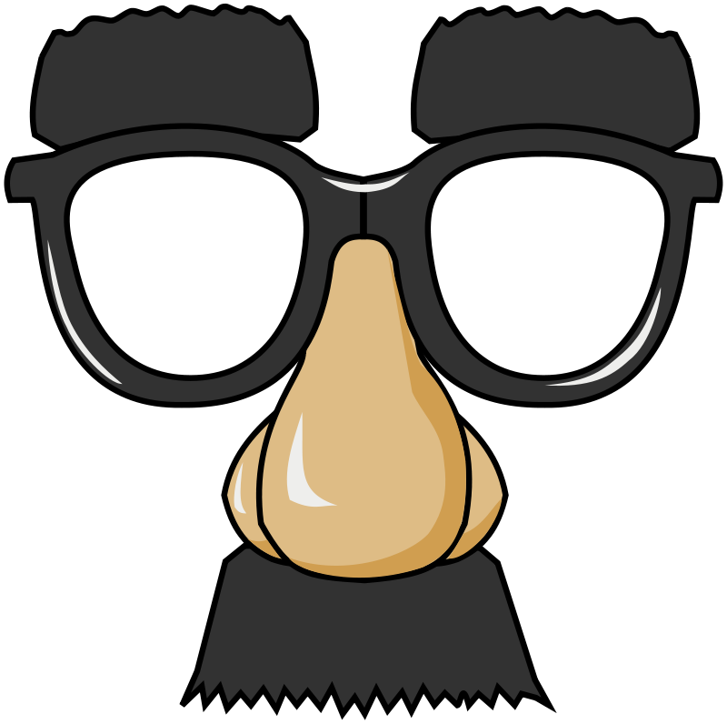 Funny nose clipart 3