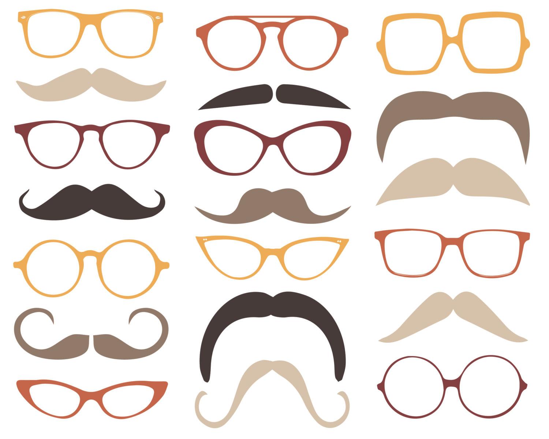 Glasses cliparts