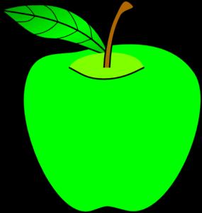 Green apple clip art tumundografico
